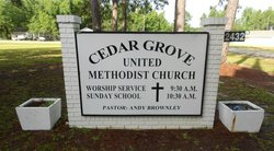 Cedar Grove United Methodist Church Cemetery