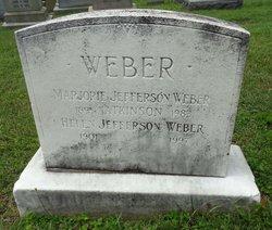 Marjorie Jefferson <i>Weber</i> Atkinson