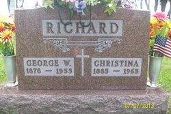 Christina <i>Wiederholt</i> Richard