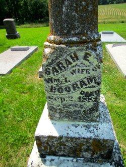 Sarah Elizabeth Lizzie <i>Barngrover</i> Booram