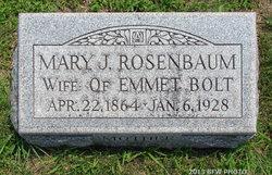 Mary Jane Molly <i>Rosenbaum</i> Bolt