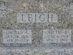 Lucille Avella <i>Prescott</i> Leigh