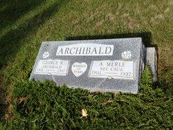 Amanda Merle <i>Caul</i> Archibald