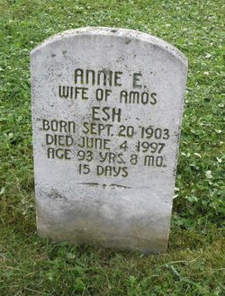 Annie E <i>Smoker</i> Esh