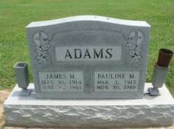 Pauline M Adams