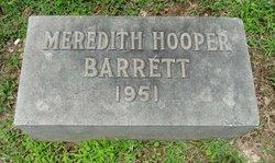 Meredith <i>Hooper</i> Barrett