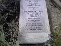 Martha <i>Letcher</i> Gottschalk