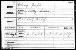 Pvt Joseph Cherry