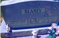 Ruth Ann <i>Payton</i> Blaney