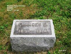 Frances Elizabeth <i>LaRoche</i> Dysinger