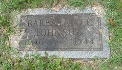 Barbara Lee Johnson