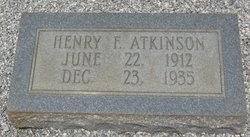 Henry F. Atkinson