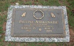 Pauline Ashkenazie