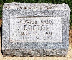 Powrie <i>Vaux</i> Doctor