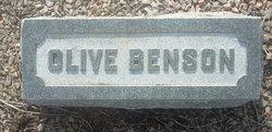 Olive Benson