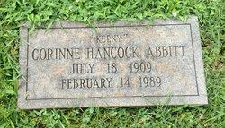 Corinne Keeny <i>Hancock</i> Abbitt