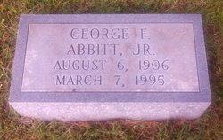 Judge George Francis Abbitt, Jr