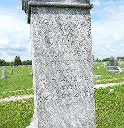 Amelia H. <i>Fisherbuck</i> Ballinger