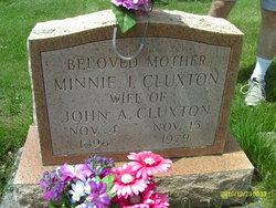 Minnie Inez <i>McGown</i> Cluxton