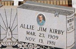 Allie Jim <i>Kirby</i> Brown