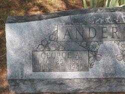 Georgia Ann George <i>Hart</i> Anderson