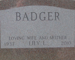 Lily L. <i>Aguilar</i> Badger