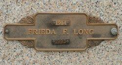 Frieda Frances <i>Miller</i> Long