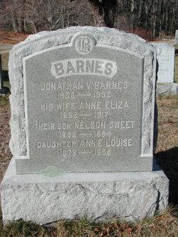 Nelson Sweet Barnes