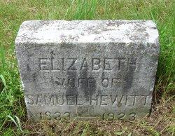 Elizabeth <i>Denison</i> Hewitt