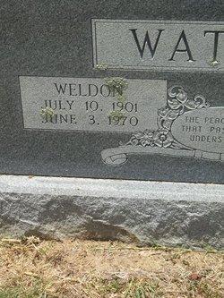 Weldon Boss Watson