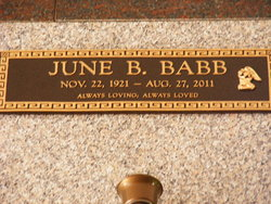 June <i>Ballenger</i> Babb