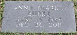 Annie Pearl <i>Lunsford</i> Burks