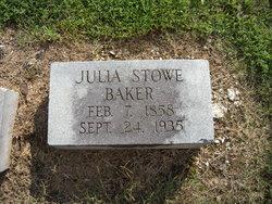 Julia E. <i>Stowe</i> Baker