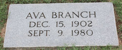 Ava <i>Browning</i> Branch