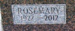 Rosemary <i>Cotner</i> Bowling