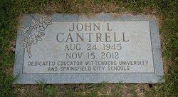 John L Johnny Lee Cantrell