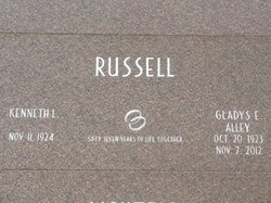 Gladys E <i>Alley</i> Russell