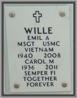 Carol Marie <i>Conner</i> Wille