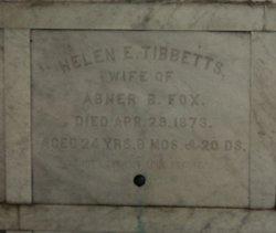 Helen E. Nellie <i>Tibbetts</i> Fox