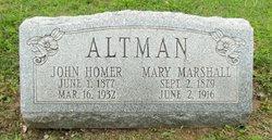 Mary <i>Marshall</i> Altman