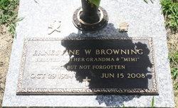 Ernestine <i>Wood</i> Browning