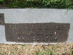 Bettie E. <i>Baker</i> Aldridge
