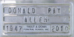 Donald Ray Allen