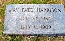 Elizabeth May <i>Pate</i> Harrison