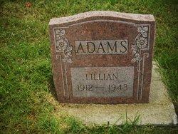 Lillian <i>Tedford</i> Adams