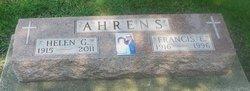 Helen Gertrude <i>Everett</i> Ahrens