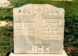 Fannie Arthurs Rice
