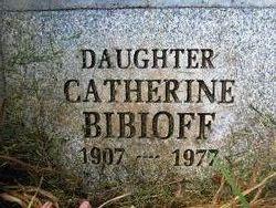 Catherine <i>Schultz</i> Bibioff