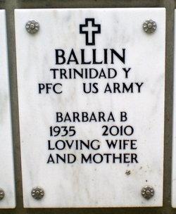 Barbara Belle Courtney Ballin