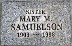 Mary M <i>Schultz</i> Samuelson